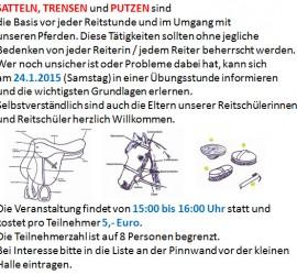 Satteln_Trensen_Putzen